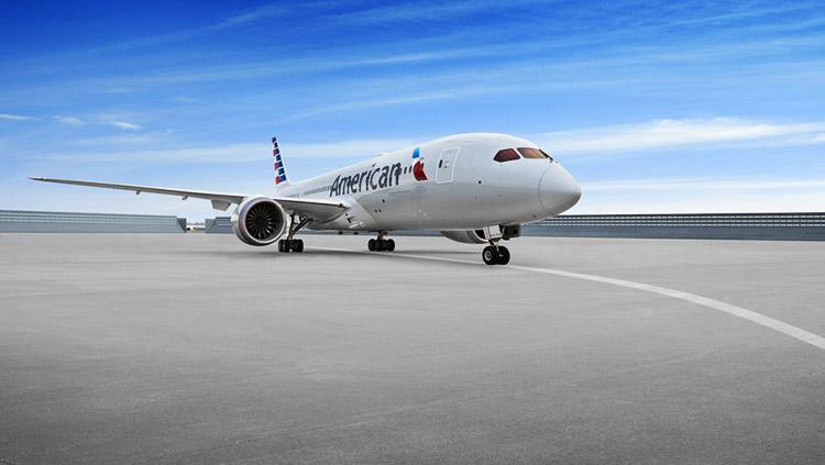 アメリカン航空B787