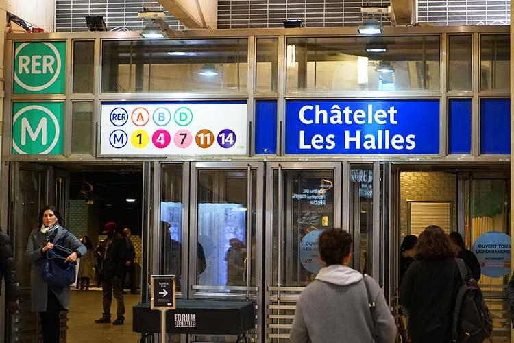 シャトレ-レ・アル駅