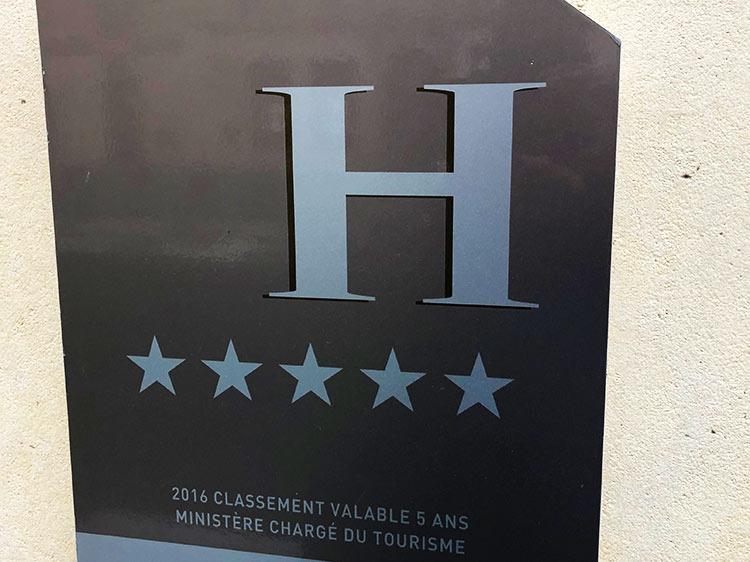 5つ星ホテル