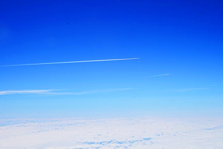 ヨーロッパの空