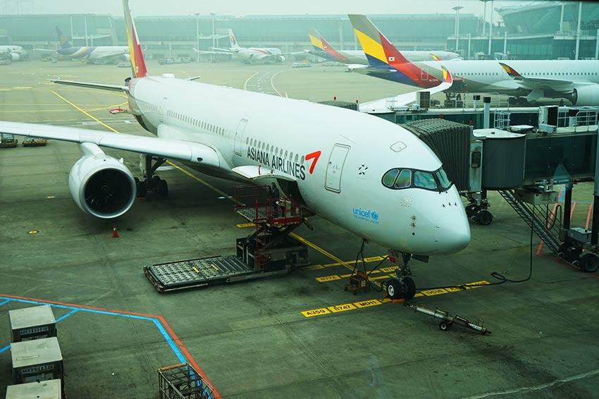 アシアナ航空 A350