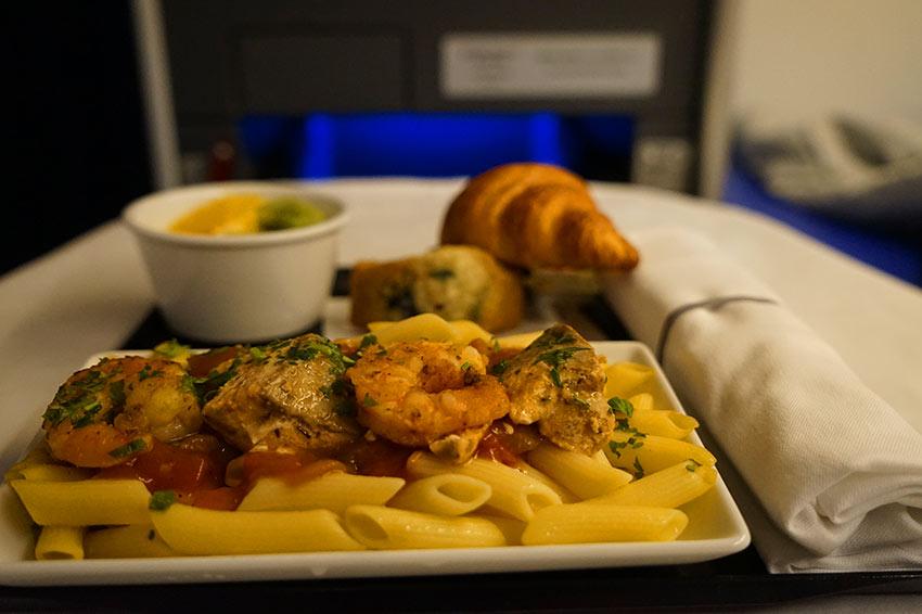 機内食 昼食
