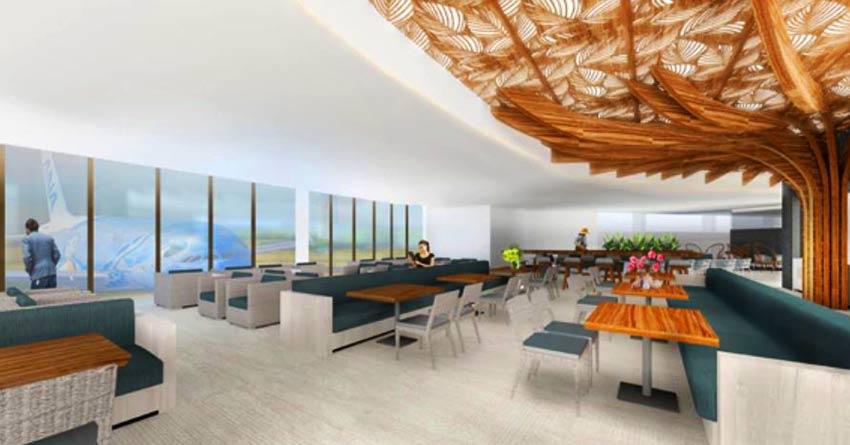 ANA lounge ホノルル