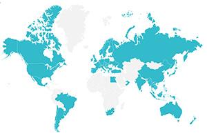 訪問66カ国