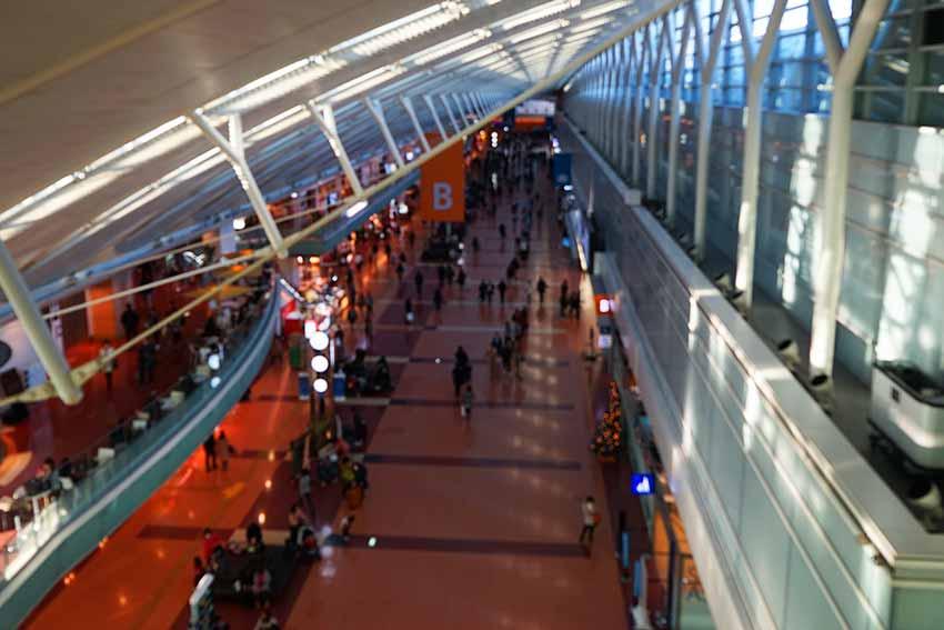 羽田空港T2