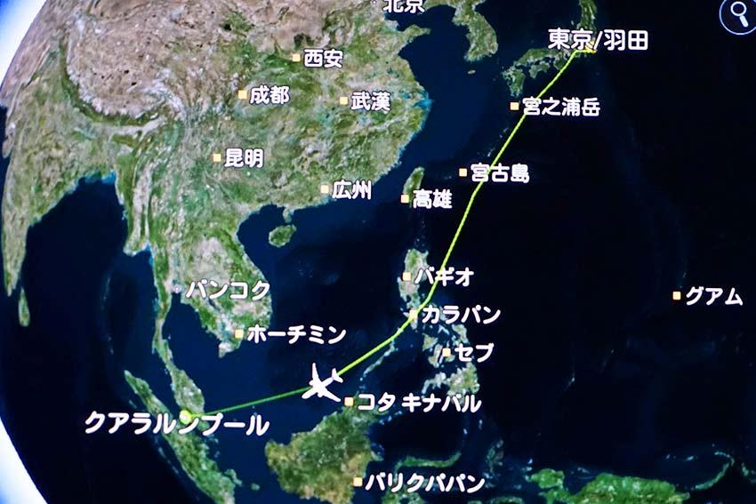 飛行ルート