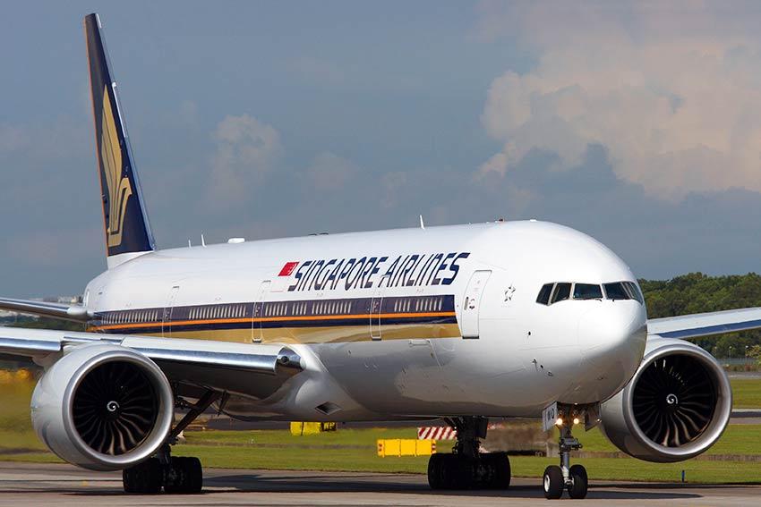 シンガポール航空77W