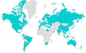 訪問72カ国