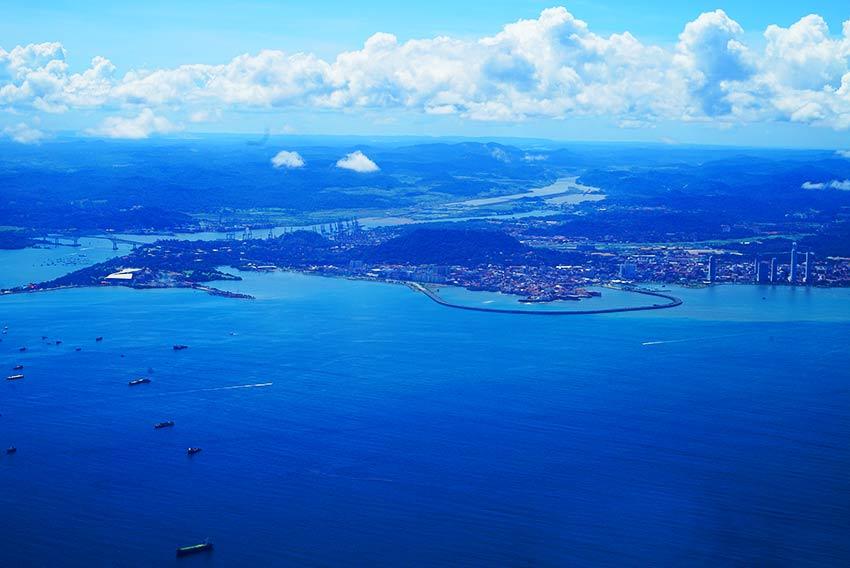 パナマ全景