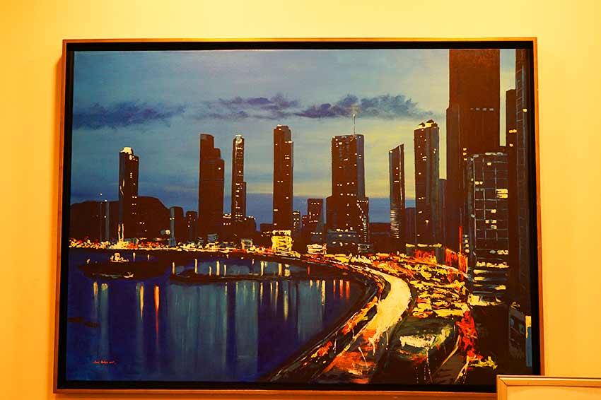 新市街絵画