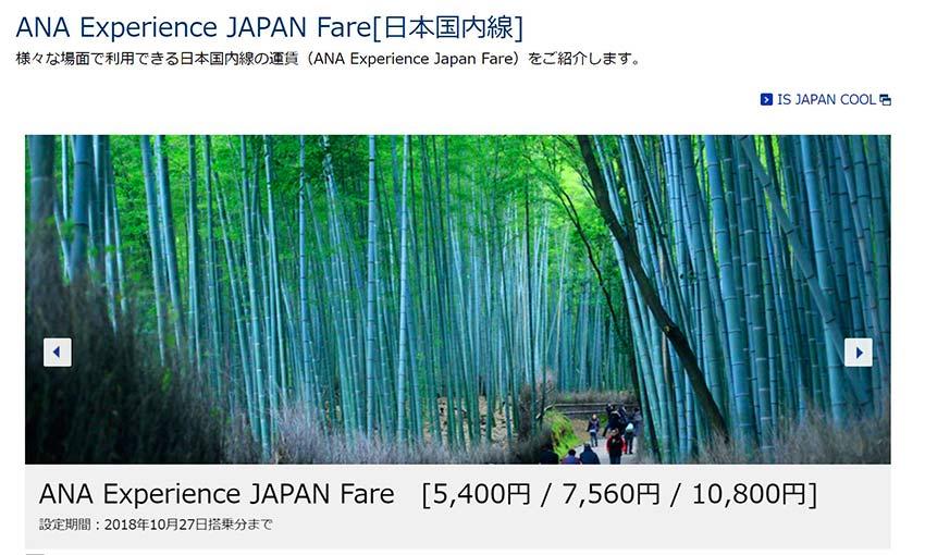 Japan fare