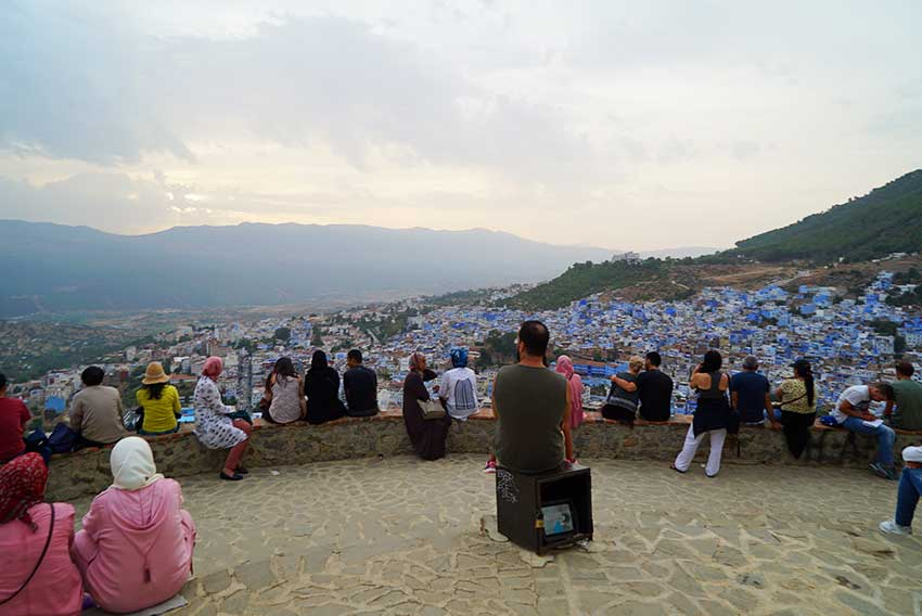 スペインモスクの丘