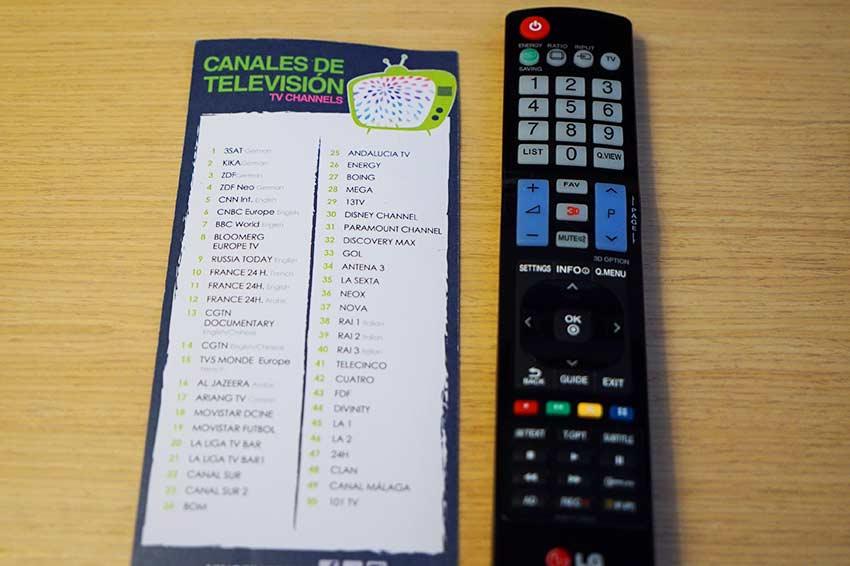 テレビチャンネル