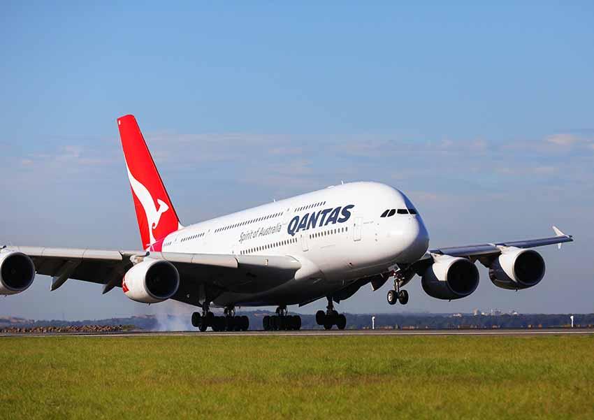 カンタス航空A380