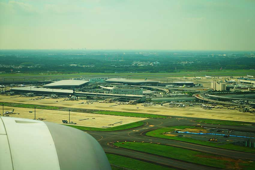 成田空港 空撮マップ