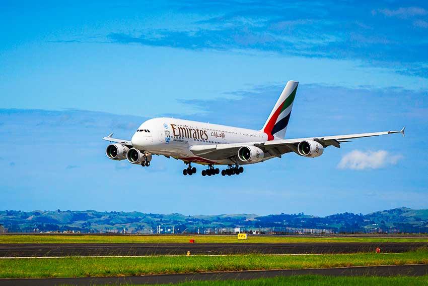 エミレーツ航空A380