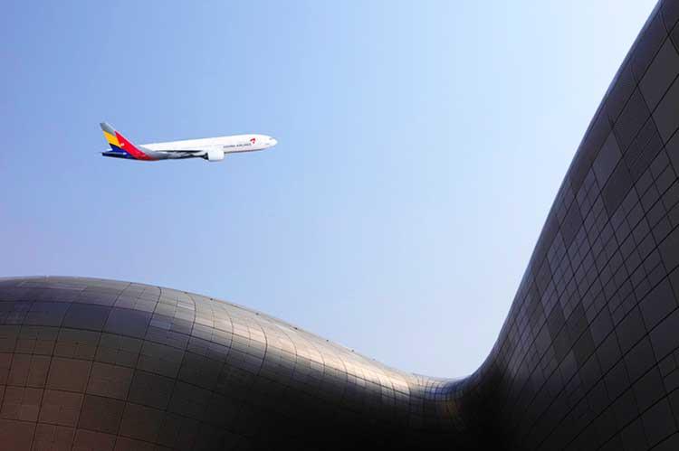 アシアナ航空777 on ICN
