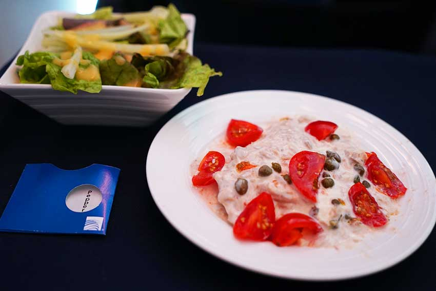 コパ航空機内食