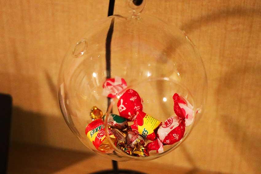 キャンディー鉢