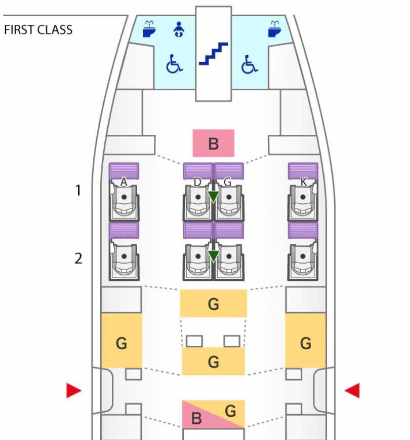 ANA A380 Fclass