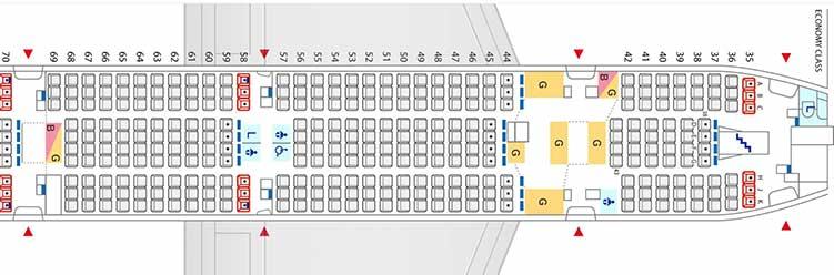 ANA A380 エコノミークラス