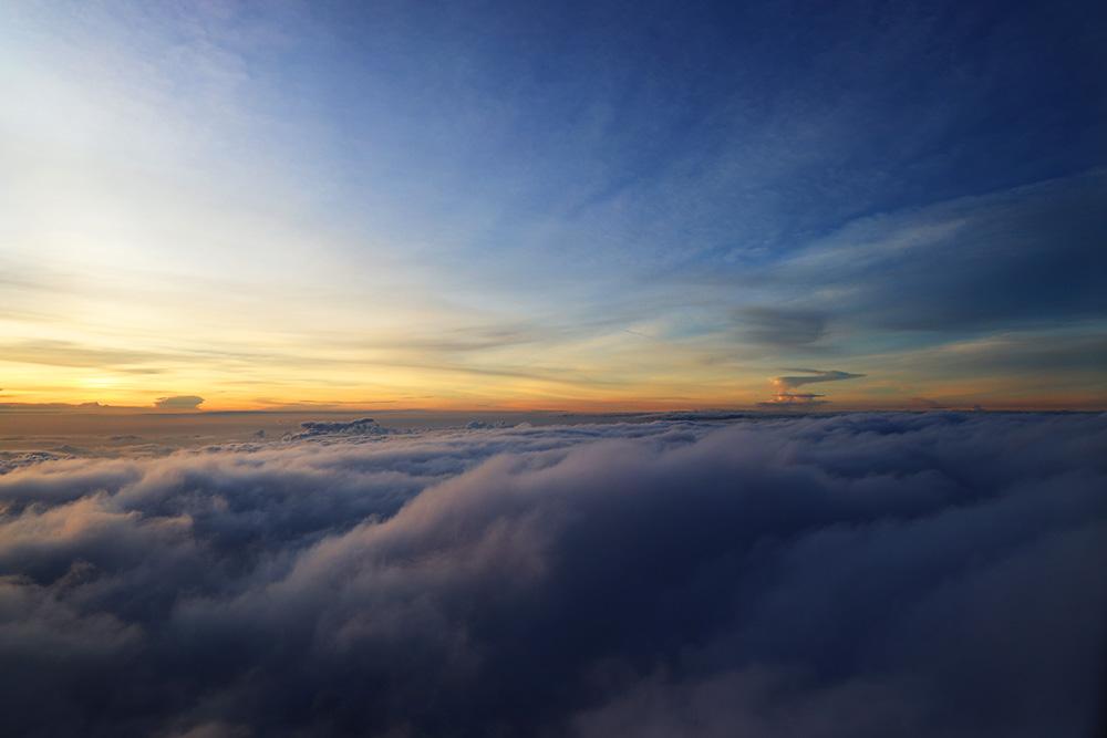 クアラルンプール上空