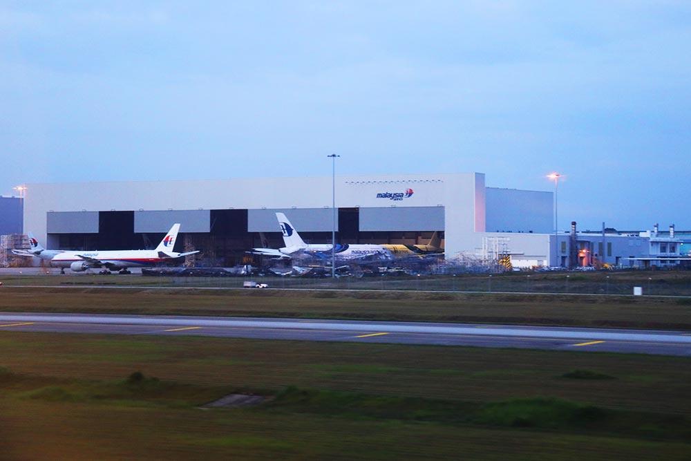 クアラルンプール国際空港滑走路