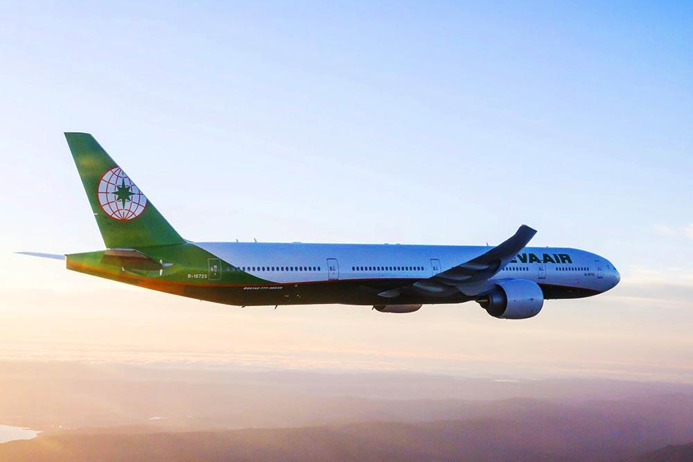 エバー航空B777-300ER