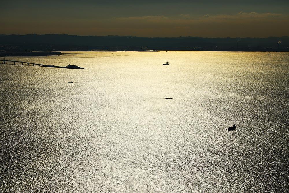 黄金の東京湾