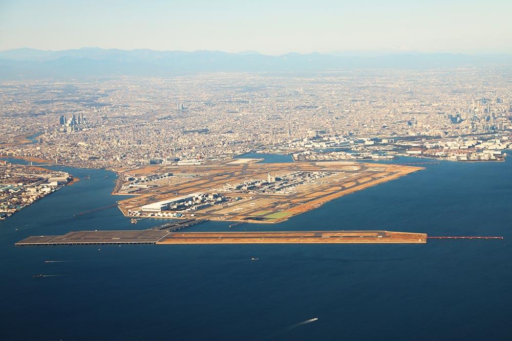 東京国際空港全景