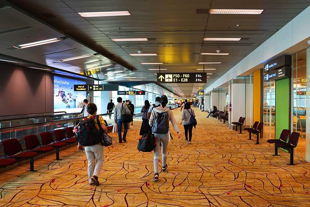 チャンギ空港ターミナルF