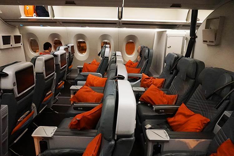 シンガポール航空プレミアムエコノミー
