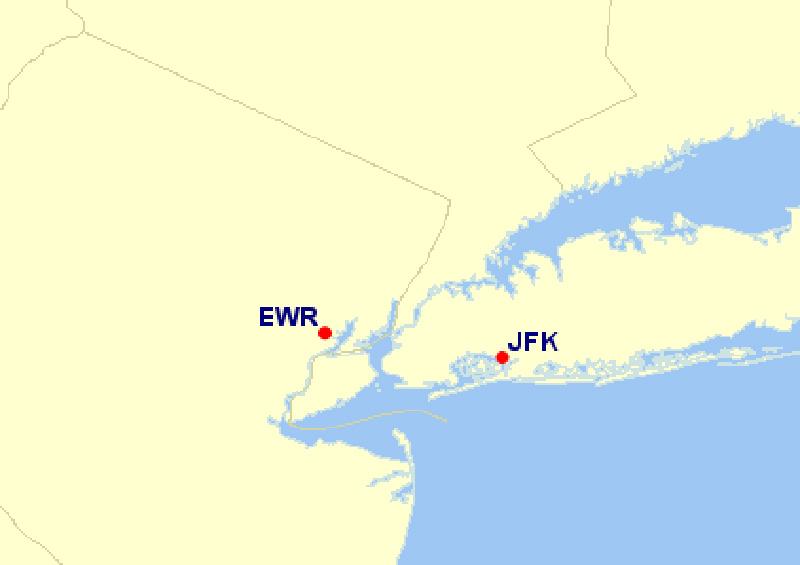 ニューヨーク空港