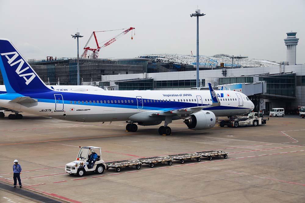 改築中の羽田空港ターミナル2