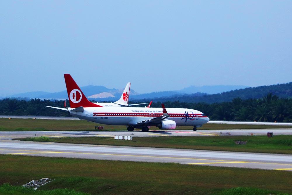 マレーシア航空クラシック塗装