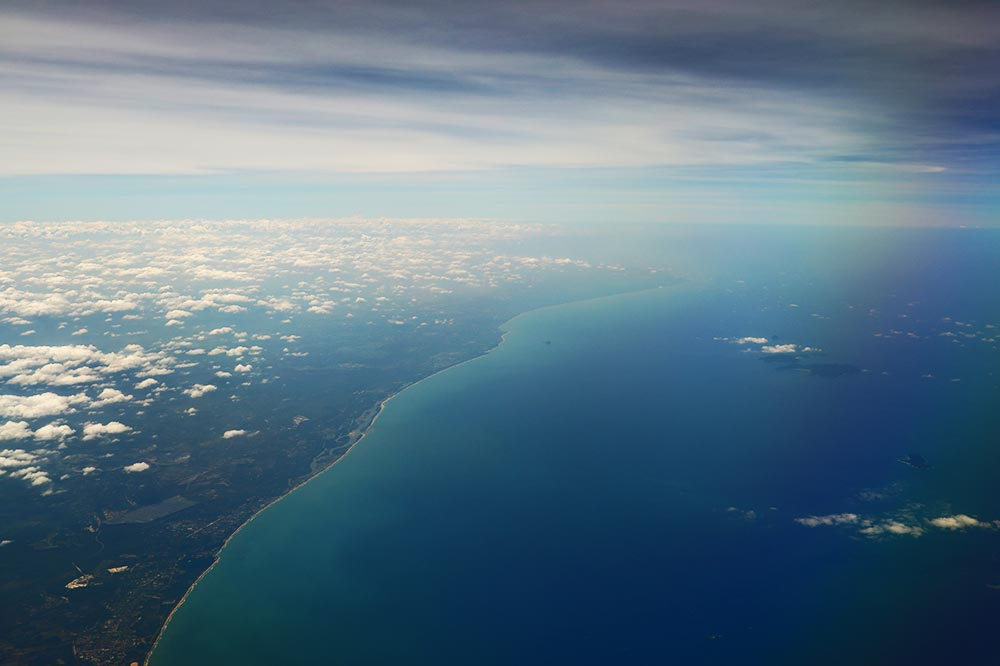 マレー半島海岸