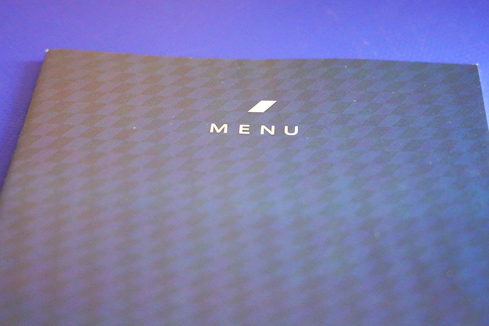 ANAアメリカ線機内食メニュー