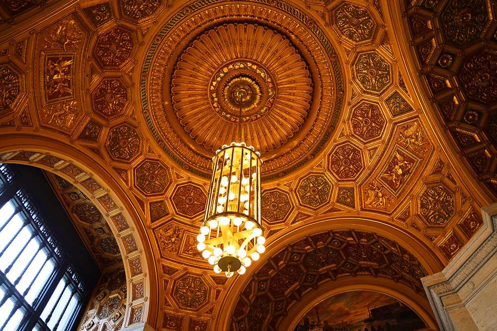 ロンドンハウスシカゴ 天井