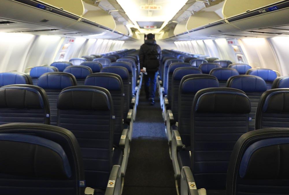 ユナイテッド航空エコノミープラス