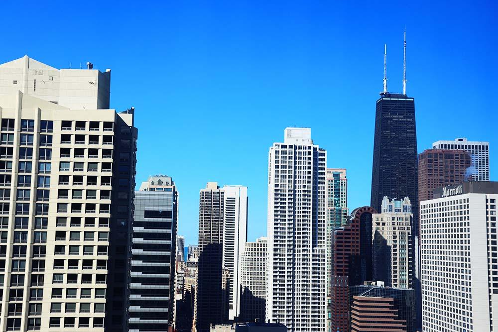 トランプタワーホテル シカゴ シティビュー