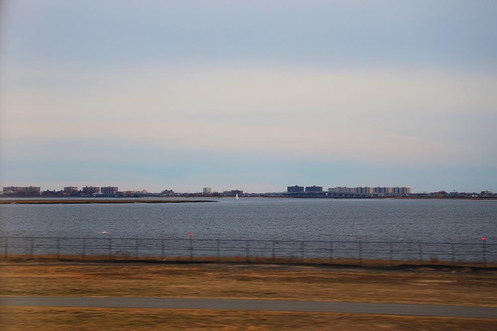 JFK空港滑走路