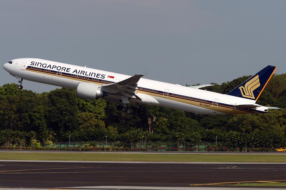 シンガポール航空 B77W
