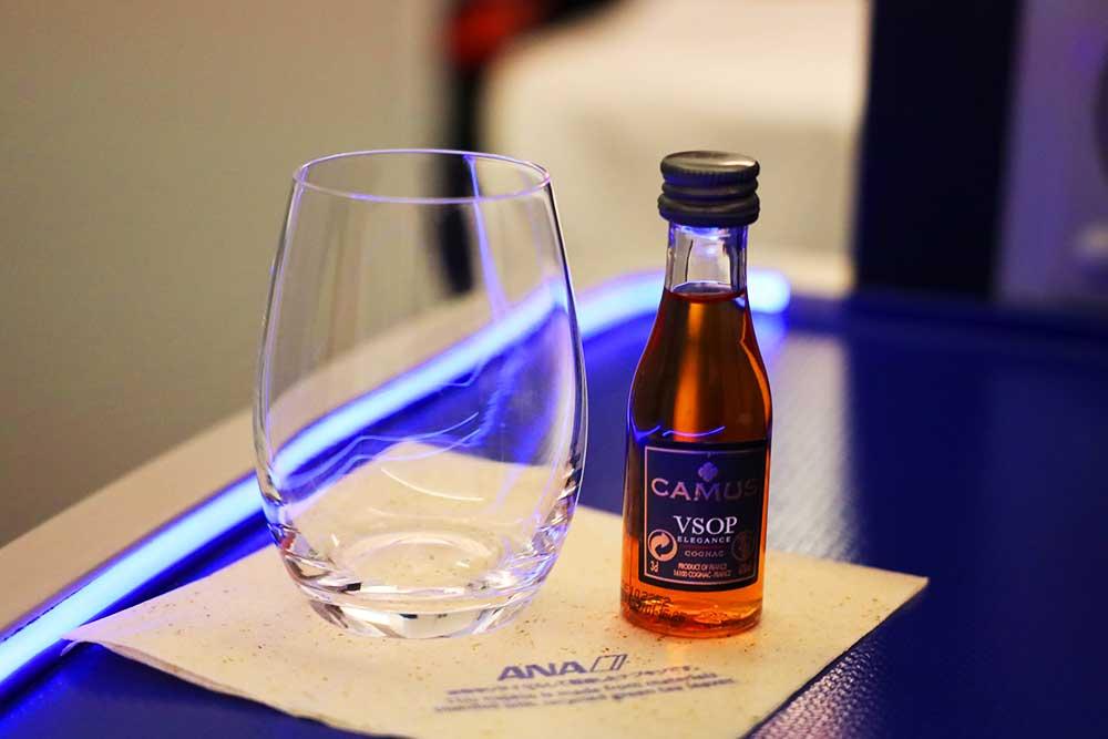 ANAビジネスクラス 洋酒