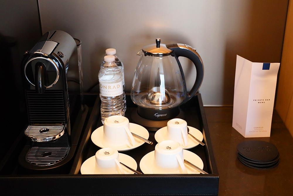 コンラッドワシントン ミニバーコーヒー
