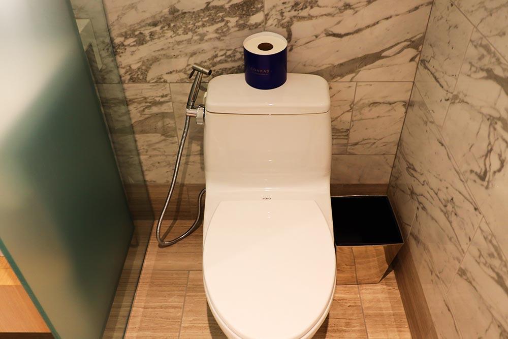 コンラッドワシントン トイレ