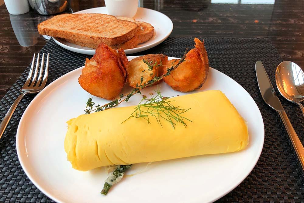 コンラッドワシントン 朝食
