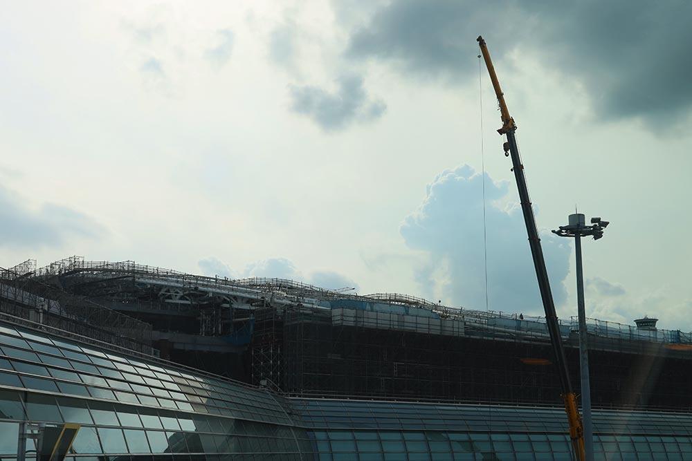 羽田空港第二ターミナル改装