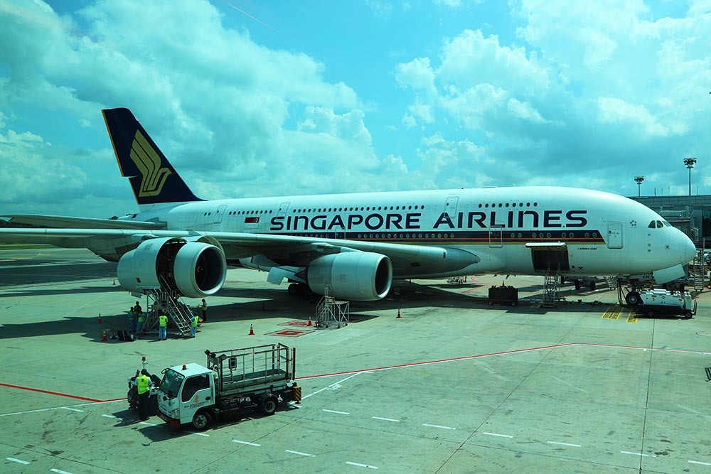 SQ A380@SIN