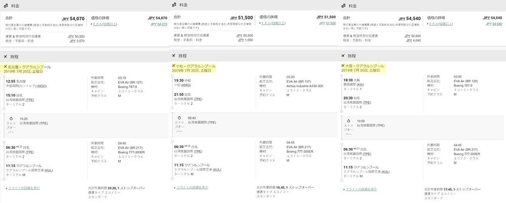 西日本運賃一覧1