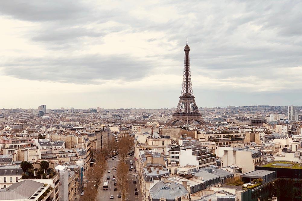 パリ エフェッル塔